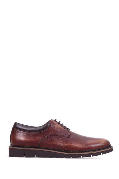 Derimod Genuine Leather Tan Men Shoes