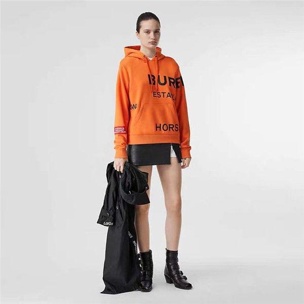 Yeni tasarım BBR mektubu baskı moda kadın Kazak Kış moda kadın hoodies casual pamuk bayan kazak crewneck kazak d