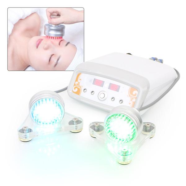 Nueva marca LED colores rejuvenecimiento de la piel Fotón belleza máquina Bio lifting facial Microcorriente eliminación de arrugas tratamiento del acné