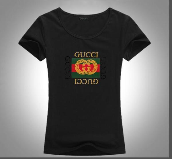 All'ingrosso 2019 estate nuova tendenza abbigliamento donna puro cotone T shirt moda manica corta O colletto maglietta casual per uomini e donne una varietà