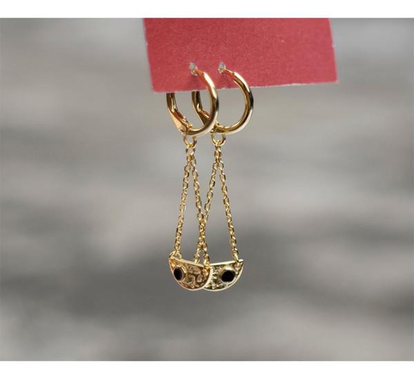 925 argent sterling boucle d'oreille mode design créatif chaîne semi-circulaire longue pendentif boucle d'oreille tempérament sauvage tendance oreille féminine j