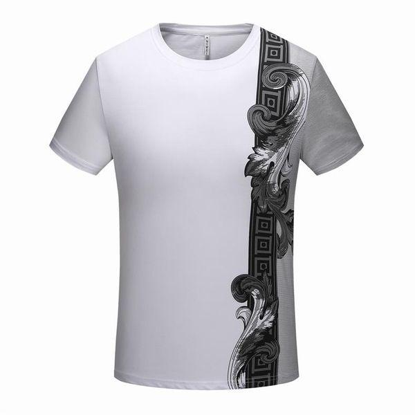 New York Fashion High Quality Heron Preston Nasa USA Flag Embroidery Men Women Street Luxury Cotton Hoody Casual Short Sleeve T-Shirt C34