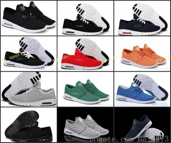 Kadınlar Erkekler için Ayakkabı Koşu Ucuz SB Stefan Janoski Ayakkabı, Yüksek Kalite Atletik Spor Eğitmenler Spor ayakkabılar Ayakkabı Boyut Eur 36-45 Ücretsiz Kargo