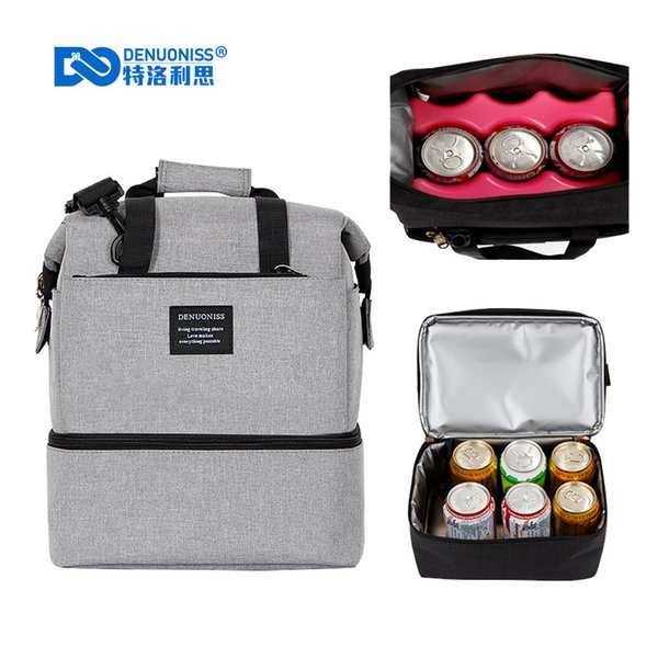 Oxford Waterproof Picnic Cooler Bag thermo Lunch Box Insulated Backpack Ice Pack Fresh Carrier Thermal Shoulder/Handbags A149