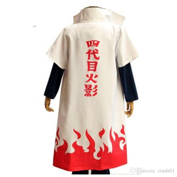 Naruto Yondaime Hokage Character Robe Theme Costume Suit Men Women Funny Cosplay Clothes Stage Clothing Free Shipping