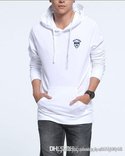 Spring and fall hoodies for men new long-sleeved hoodies for men Korean version trend loose fall coats for men