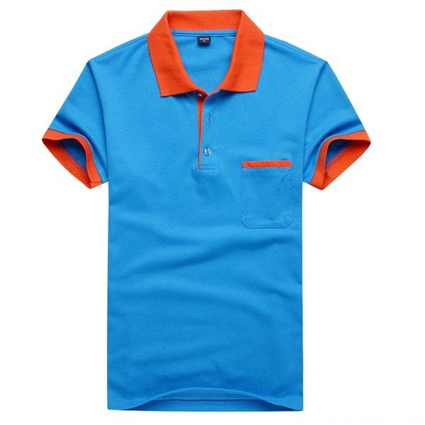 Lago blu arancione collare con tasca