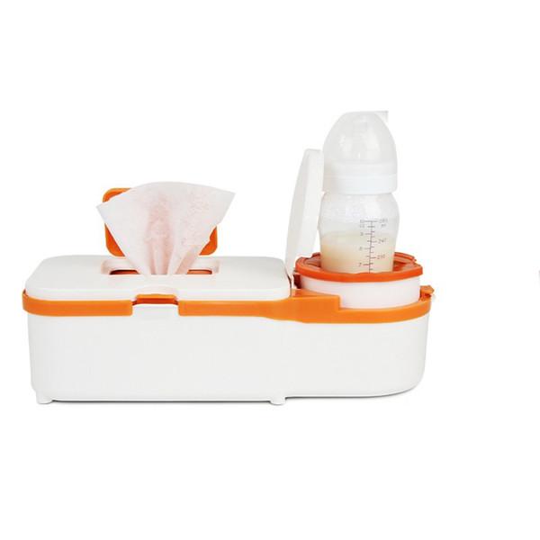 DMWD 220 V / 12 V Haus Und Auto Dual Zweck Elektrische Nasses Handtuchspender Baby Tücher Heizung Milch Flaschenwärmer Tücher Box Für Winter