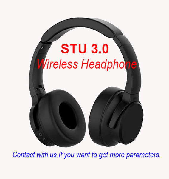 best selling High quality Brand STU 3.0 Wireless Headphones sport earphones stereo sound gaming headband Wireless headsets for Android ISO free shipping