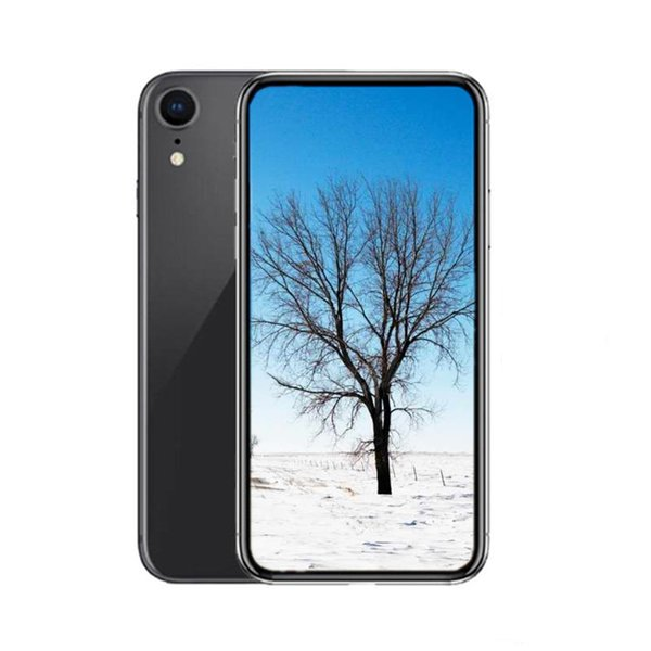 Goophone Xr SmartPhone 6.1inch Colorful Quad Core 1G RAM 16G ROM 8MP Camera 3G WCDMA Show Fake 4g lte Unlocked Cell Phones