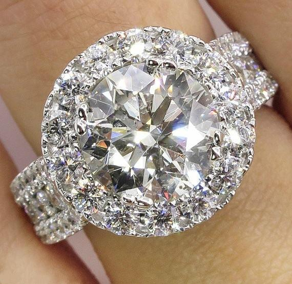 bague diamant luxe occasion