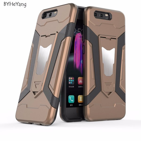 """BYHeYang Magnetic for 9 5.15\"""" Shockproof Armor Magnet Case for Huawei Honor 9 Cover"""