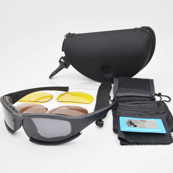 Army Goggles Sunglasses Men's Outdoor Sports Game Glasses Styling