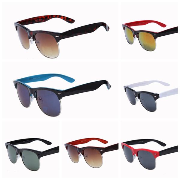 2018 Excellent Quality 81062 Ray Aviator Sunglasses Bans Frame Glass Lenses Brand Designer Sunglasses for Man Women