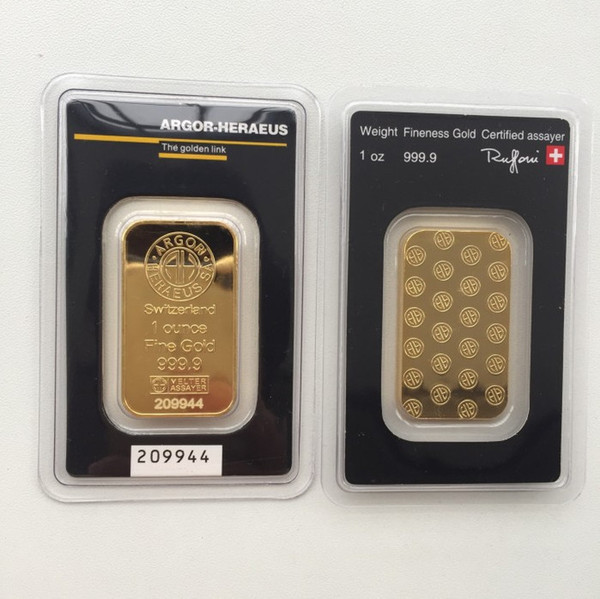 1 OZ Hereaus Gold Bar