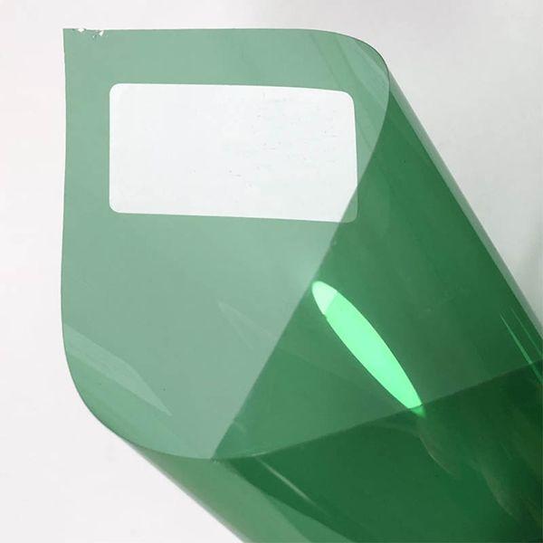 1pcs pellicola solare 0.5 * la finestra 3m Verde chiaro tinta per il lato parabrezza auto per casa Glass Window Tinting Film