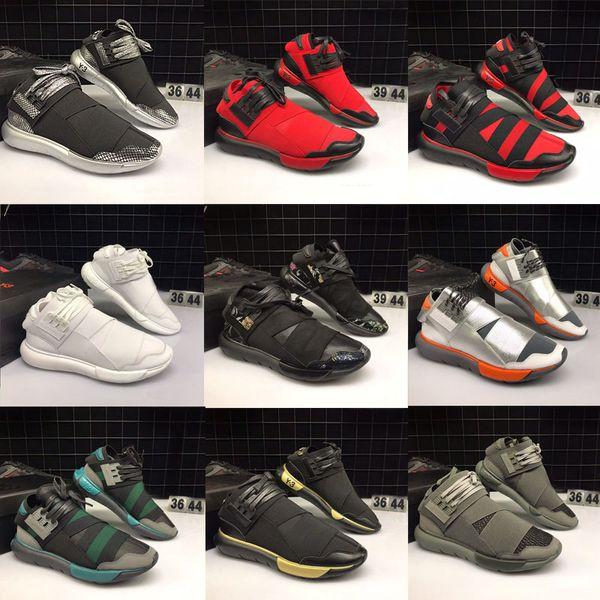 Yeni Moda Lüks Tasarımcı QASA Yüksek Y-3 Suberou erkekler Kadınlar için siyah şövalye Koşu Ayakkabıları Üzerinde Kayma Spor Yürüyüş Sneakers Açık ayakkabı