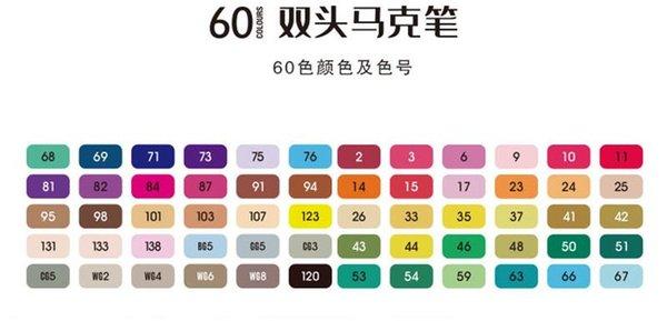 60PCS / مجموعة