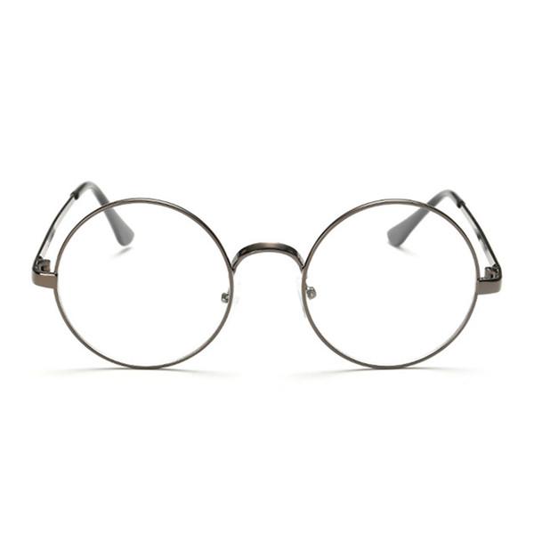 Женщины Мужчины Очки Ретро Негабаритные Корейские Круглые Очки Мода Унисекс Очки Оптическая оправа Очки Старинные Очки