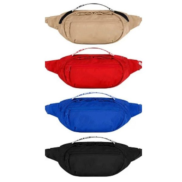 top popular Best Quality Waist Bag Fanny Bags Chest Pack fashion bags Single Shoulder Outdoor Messenger bags 4 Colors DHL Shipping 2019