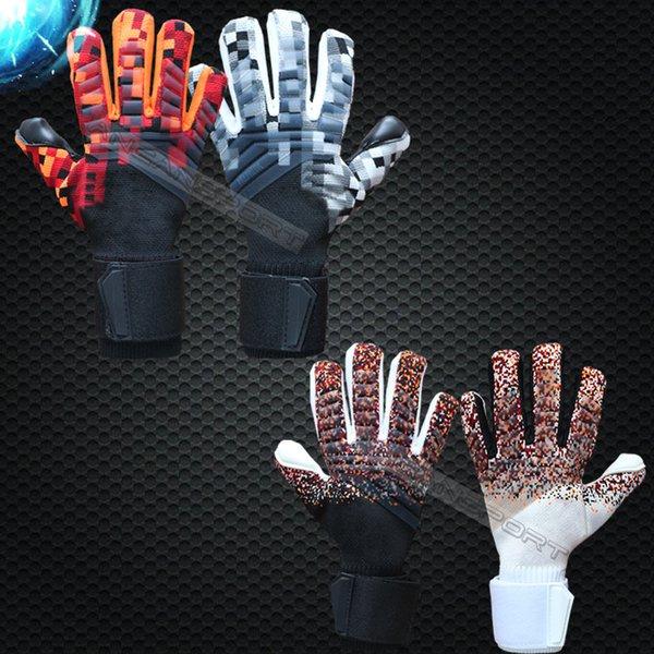 best selling Jusdon 4mm Latex Soccer Professional Goalkeeper Gloves Goalie without fingersave FootballBola De Futebol Gloves Luva De Goleiro