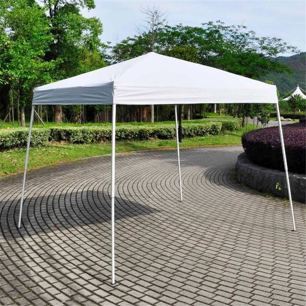10' x 10' Easy POP UP Wedding Party Tent Foldable With Bag White