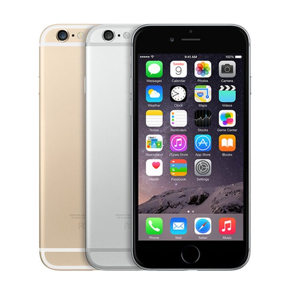 """Original Apple iPhone 6 with Touch ID 4.7"""" IOS Dual Core 4G LTE cellphone 16/64/128GB ROM Fingerprint unlocked refurbished mobile iphone6"""
