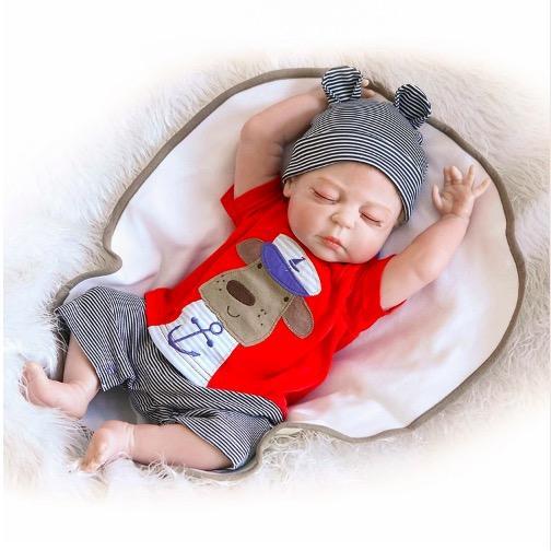 Bebes Reborn Bebekler Gerçekçi bebek Bebek yumuşak silikon Tam vücut Vinil Boneca Bebek Kız Doğum Günü Oyuncakları lol doll Için suprice