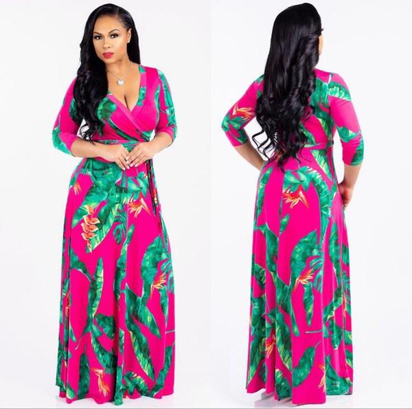 Vente chaude nouvelle conception de la mode traditionnelle africaine vêtements imprimer Dashiki Nice cou robes africaines pour femmes robes