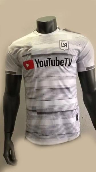 Spieler-Version LAFC Jerseys MLS 2019 Fußball-Hemd-Ausgangsweg Los Angeles FC ZELAYA ROSSI VELA ZIMMERMAN Mehr 10pcs geben DHL Verschiffen frei