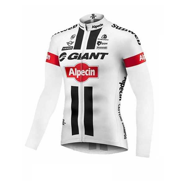Best Selling GIANT Bicycle Clothing Cycling long Thin and light Sleeves jersey Leisure Bicycle equipment shirt 60901