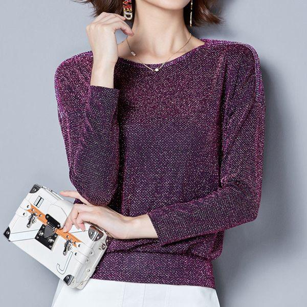 O-neck T Shirt Women Tops Long Sleeve Tshirt Women T-shirt Fashion T Shirts Women Clothing Poleras De Mujer Moda