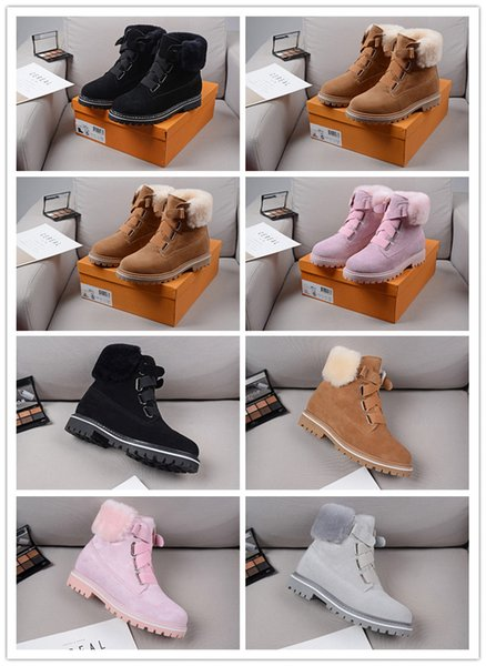best selling fashio Top Quality MEN luxury wool BOOTS NEUMEL SUEDE Winter boots new women classic boots Newm series straps casual warm mini boot Sho0ba7#
