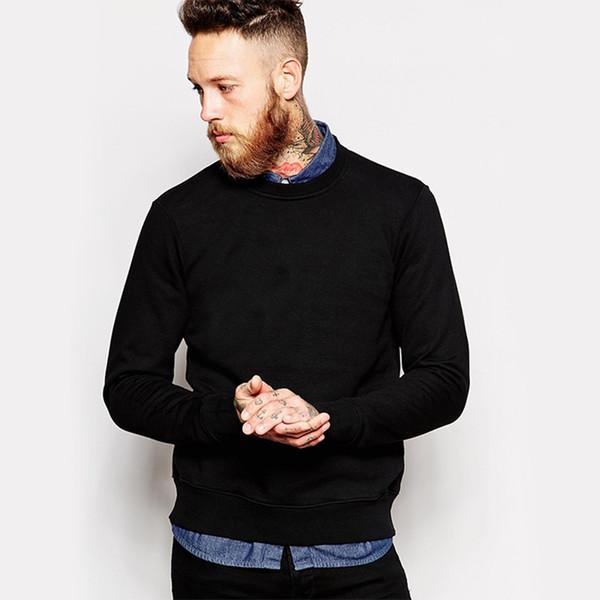 2019 Brand New Arrival Men's Fleece Blank No Hoodies Sweatshirts Regular Size 5 Colors Comfortable Male Hoodie Shirt Tops