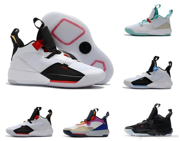 Sapatos de basquete 33S designer Futuro do Vôo para homens 33 Michigan PE Tech Pack 33s Preto Smoke Sneakers