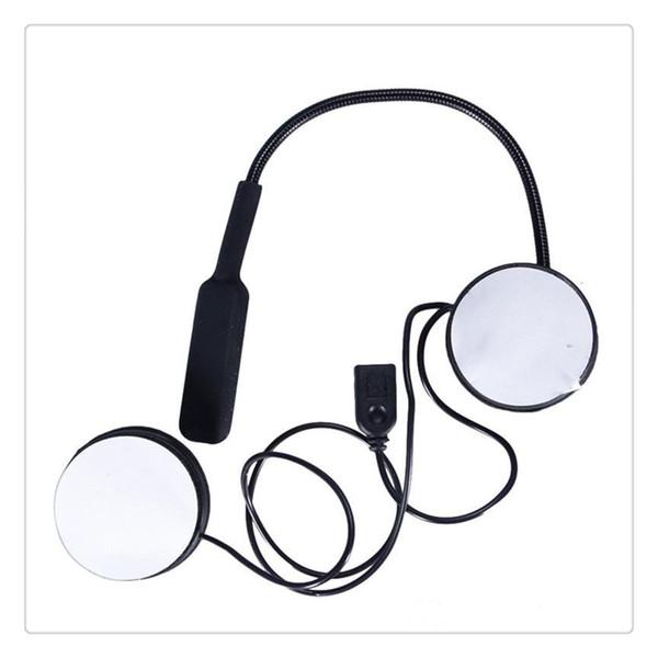 Motosiklet Kask Kulaklık Bluetooth 4.0 Çift Stereo Hoparlörler Eller Serbest Müzik Çağrı Kontrol Mic Kulaklık Ücretsiz Kargo
