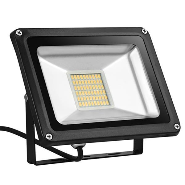 US Stock Externe LED Flood Light 30W 12 V Sécurité Lampes Extérieur Blanc Chaud 3000K Meilleur Extérieur LED Projecteurs