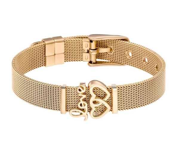 or plage des bracelets 26 lettres bracelets première charmes simple bracelets