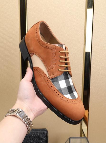 İş ayakkabıları moda vahşi rahat ayakkabılar Avrupa istasyonu tasarımcı sıcak satış erkek ayakkabı fabrikası doğrudan ücretsiz kargo