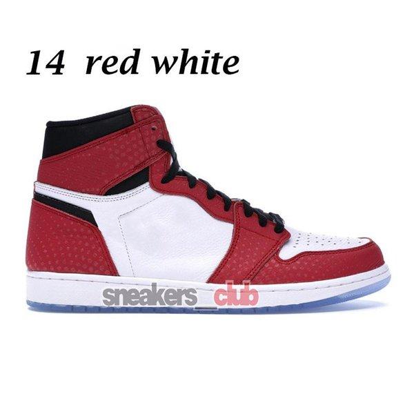 14 rojo blanco