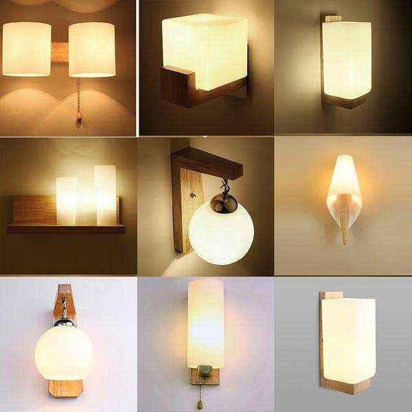 Acquista Lampada Da Parete A LED Riparo Soggiorno Camera Da Letto Applique  Da Parete Bagno Da Interno Calde Lampade Da Lettura Da Comodino A $7.49 Dal  ...
