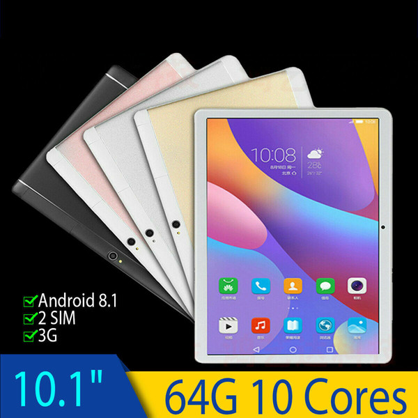 64gb 10 core tablet pc bluetooth 4 0 wi fi 4g ram camera creen 10 039 039 android 8 1