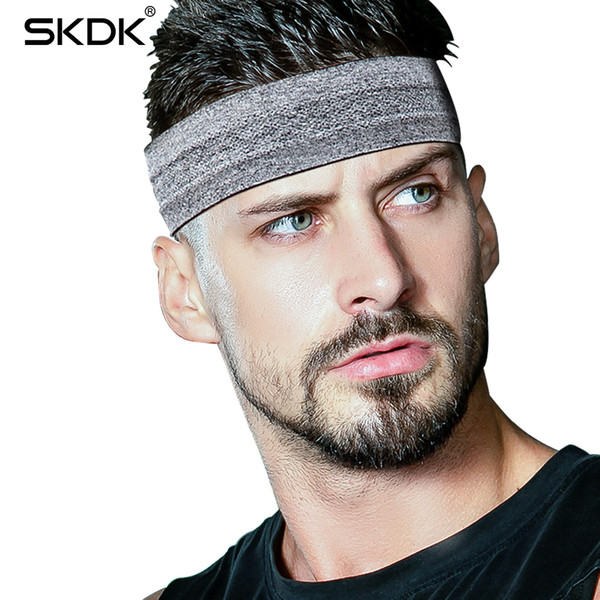 SKDK 1Pc Sweatband Elastic Yoga Running Fitness Sweat band Headband Hair Bands Head Prevent Sweat Band Sports Equipment