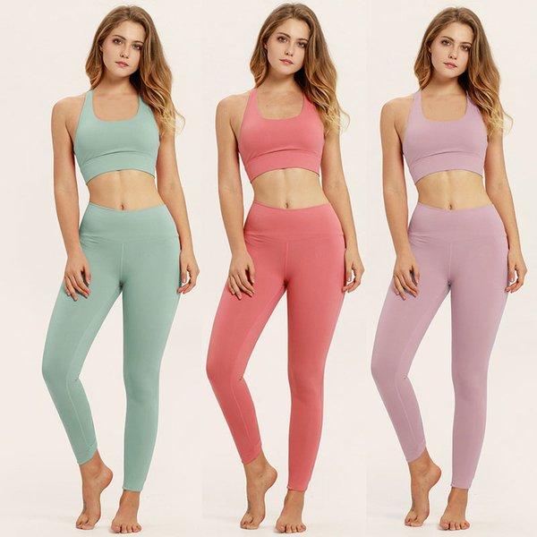 Wholesale Spot Maternity Yoga Suits Sports Vest Fitness Suits Solid Color Modal Cotton Comfortable Fabrics Sportwear Elastic Waist