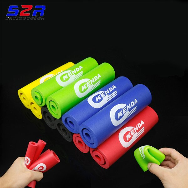 Bike Racing Bicycle Motorcycle Handle Bar Foam Sponge Grip Cover Nonslip AL