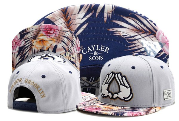2019 summer style Cayler & Sons BONJOUR BROOKLYN foral snapback hats baseball caps hip hop casquette summer for men