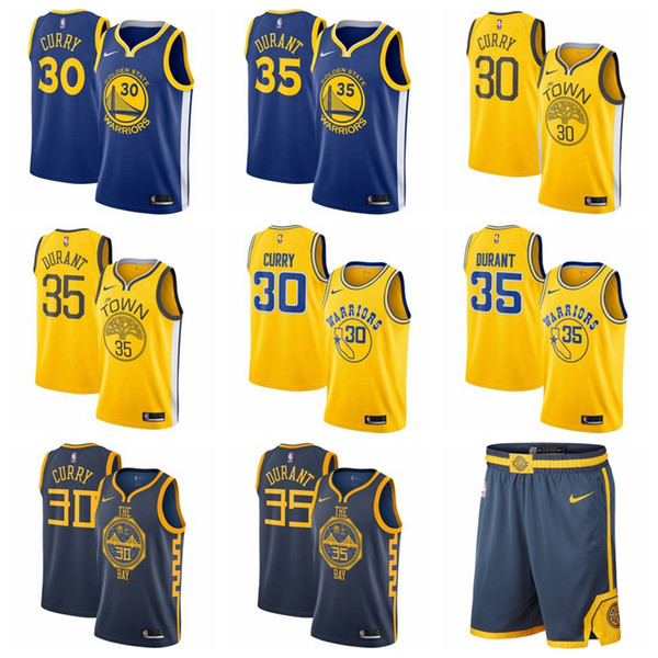 low priced 9cee1 a6f5f 2019 2019 Men Stephen Curry Golden Klay Jersey Thompson State Warrior Kevin  Durant Fanatics Branded Fast Break Andre Iguodala Jersey From Mengmengya,  ...