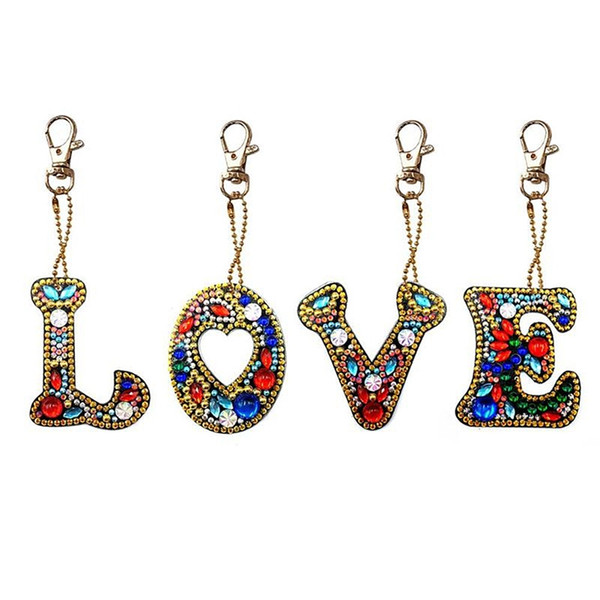 2019 CSS Diy Letters Diamond Painting Keychain Kits Full Drill Diamond  Embroidery Girl Bag Jewelry Handmade Gift From Flaminglily, $40 21 |  DHgate Com