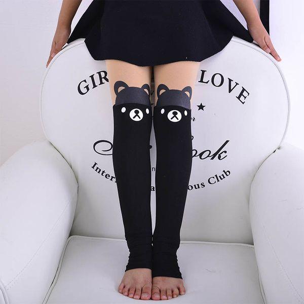 2019 new cute Cartoon Girls Pantyhose dance Kids Leggings Girls Leggings Kids Cotton Leggings Children Trouser kids clothes A4052