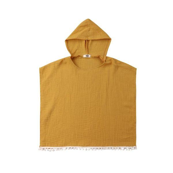 2019 New Brand Newborn Kids Baby Girl Cape Wrap Shawl Hooded Casual Tassel Hooded Poncho Cloak Jumper